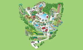 Map Of Pigeon Forge Tennessee by Water Park Map