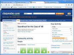 find college classmates collaboration and social networking ppt