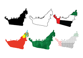 Uae Blank Map by Uae Map Clipart 16