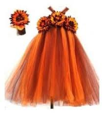 Thanksgiving Tutu Dresses Fall Tutu Dress Fall Tulle Dress Sunflower Tutu Dress