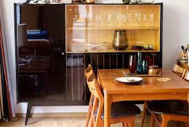 Wohnzimmerschrank 70er Jahre Exklusiver 50ies Wohnzimmerschrank Raumwunder Vintage Wohnen