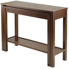 Expandable Console Table Winsome Brandon Expandable Console Table Kitchen Dining