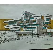 196 best architectural sketches images on pinterest