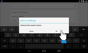 delete search history android how to delete your search history on android daily sun