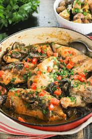 marsala cuisine healthy and easy chicken marsala a one pot meal and the