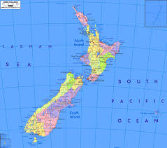 Blank Map Of World Political by Geography Blog Political Map Of New Zealand