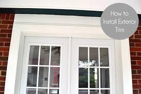 Replacing An Exterior Door How To Install Exterior Door Trimlemon Grove Lemon Grove