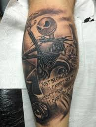 the nightmare before via tattoodo muses