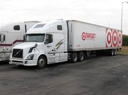 trailer volvo swift transportation volvo with target trailer truck 3039 u2026 flickr