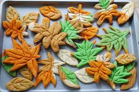 thanksgiving cookie cutters 秋葉曲奇 how to make leaf cookies without cookie cutter youtube