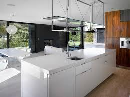 cuisine ilot central cuisine blanche laquée 99 exemples modernes et élégants cuisine