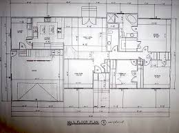 drawing house blueprints and building designs