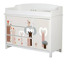 south shore cotton candy changing table amazon com south shore cotton candy changing table with removable