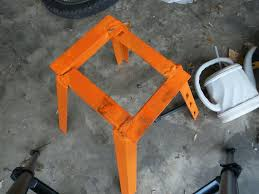 motocross bike stand homemade dirt bike stand