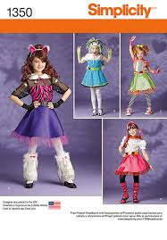 Girls Size 5 Halloween Costumes Girls Costume Pattern Monster Equestria
