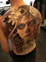 80 cool skull tattoos for back