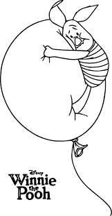 winnie the pooh poster piglet coloring page wecoloringpage
