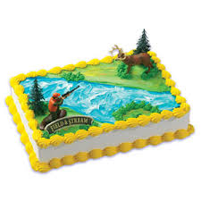 deere cake toppers field cake topper deer and buck cake connection