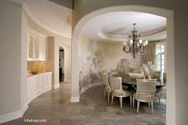 Traditional Dining Room With Mural By A Perry Homes Zillow Digs - Dining room mural