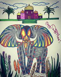 going on an elephant safari u2013 cheryl colors