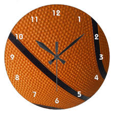 themed clocks sports themed wall clocks zazzle