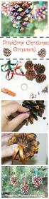 Pinecone Crafts For Kids Christmas Ornament Craft