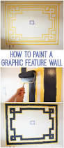 Feature Wall by Fresh U0026 Fab Family Room How To Paint A Bold Feature Wall The