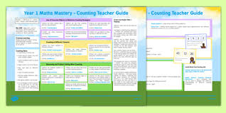 1 maths mastery counting teaching ideas