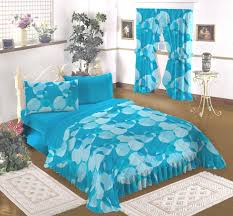 Turquoise Bed Frame Bedroom Black Wooden Bed Frame In White Bed Sheets Also