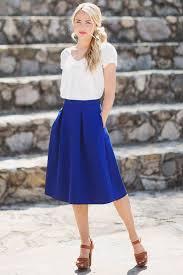 best 25 blue skirt ideas on pinterest navy skirt