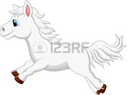 smiling horse cartoon royalty free cliparts vectors and stock