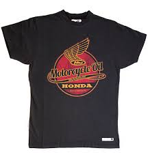 honda motorcycle logos honda vintage motorcycle oil black t shirt via moda