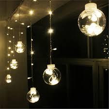 dã coration mariage décoration de mariage rideau led boule de lumière en plastique