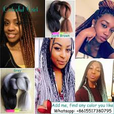 Hairstyles With Jumbo Braiding Hair Ombre Kanekalon Braiding Hair Xpression Kanekalon Jumbo Braid