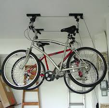 Ceiling Mount Storage by Ceiling Mounted Roof Bicycle Rack Garage Pulley Racks Stand
