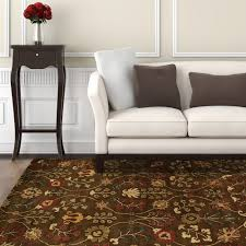 Area Rugs Home Decorators Home Decorators Collection Provencial Autumn Wool 4 Ft X 6 Ft