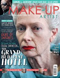 make up artist books make up artist magazine issue 108 character cover www makeupmag