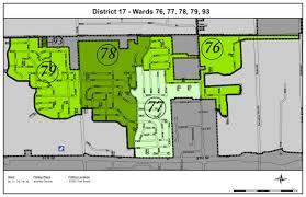 Kenosha Wisconsin Map by District 17 City Of Kenosha