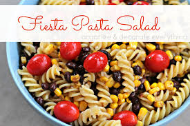 fiesta pasta salad easy to be made gluten free organize and