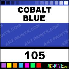 cobalt blue artists acrylic paints 105 cobalt blue paint