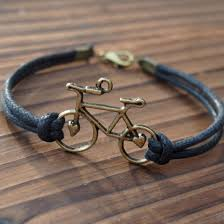 Handmade Mens Bracelets - buy bike bracelet bicycle single bracelet for quality black