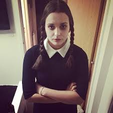 wednesday addams halloween costume party city diy halloween costumes to make with your kids misshumblebee s blog
