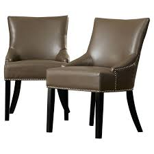 Italian Leather Dining Chairs Leather Dining Chairs Solid Oak And Brown Leather Dining