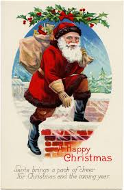 124 best christmas santa down the chimney images on pinterest