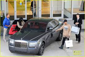 rolls royce black ruby justin bieber thinks people should be nicer to kylie jenner photo