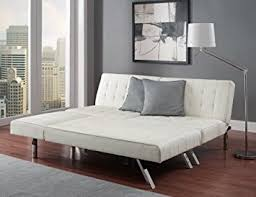 Modern White Leather Sofa Bed Sleeper Modern Sofa Bed Sleeper Faux Leather Convertible Sofa