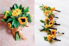 sunflower wedding bouquet sunflower wedding bouquet elizabeth designs the