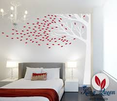 Large Wall Stickers For Living Room by Aliexpress Com Buy Corner Tree Wall Decal Vinyl Wall Art Large