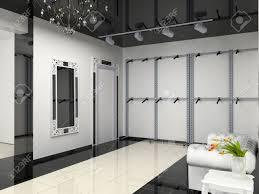 The Modern Shop Interior Design Project D Image Stock Photo - Modern boutique interior design