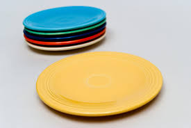 vintage plates for sale fiestaware pottery 6 7 9 10